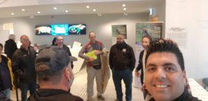 תמונות מסיור הארגון במוזיאון הטבע 2.1.20202